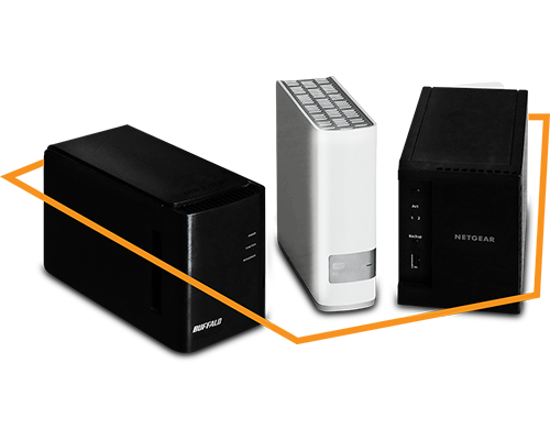 Buffalo, NETGEAR, and WD NASes